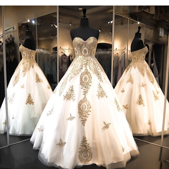 Purchase White Ball Gown Dress Up To 77 Off